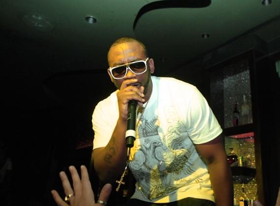 Flo Rida performs at Blush
