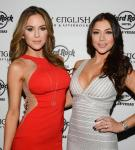 Brittney Palmer and Arianny Celeste host UFC 168 After Party at Body English Nightclub in Hard Rock Las Vegas