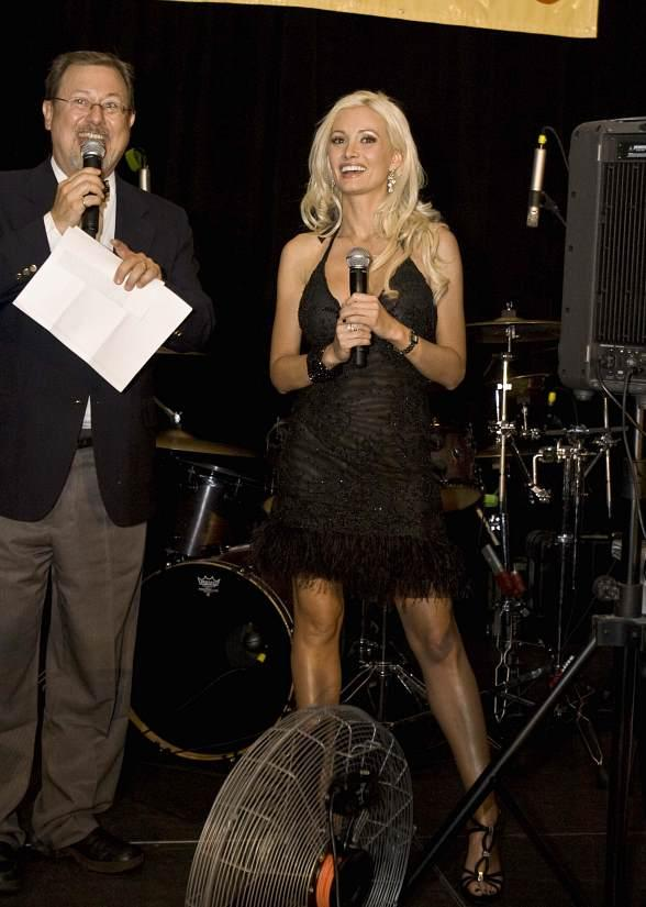 Holly Madison at Hard Rock Hotel Vegas