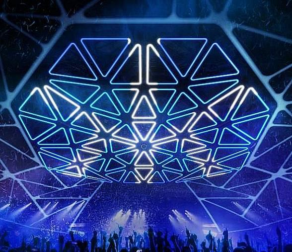 "Hakkasan Nightclub in Las Vegas Unveils Multi-Million Dollar ""Hakkasan Grid"""