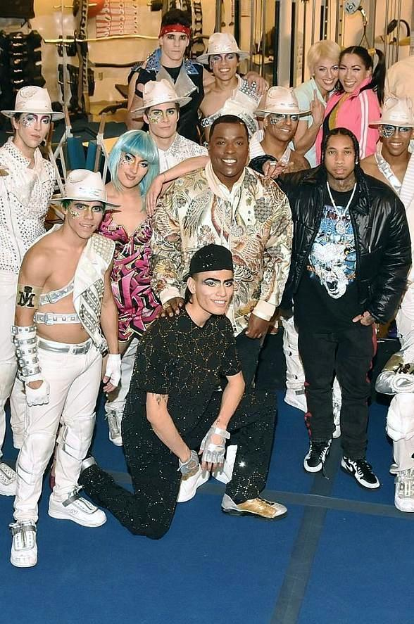 "Hip Hop Crooner Tyga Attends ""Michael Jackson ONE by Cirque du Soleil"" at Mandalay Bay Resort and Casino"