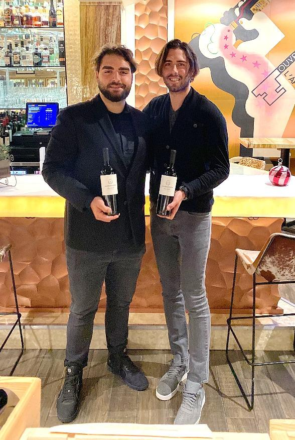 NBA Champion, LA Lakers Fame, Sasha Vujacic Visits Marche Bacchus French Wine & Bistro Shop