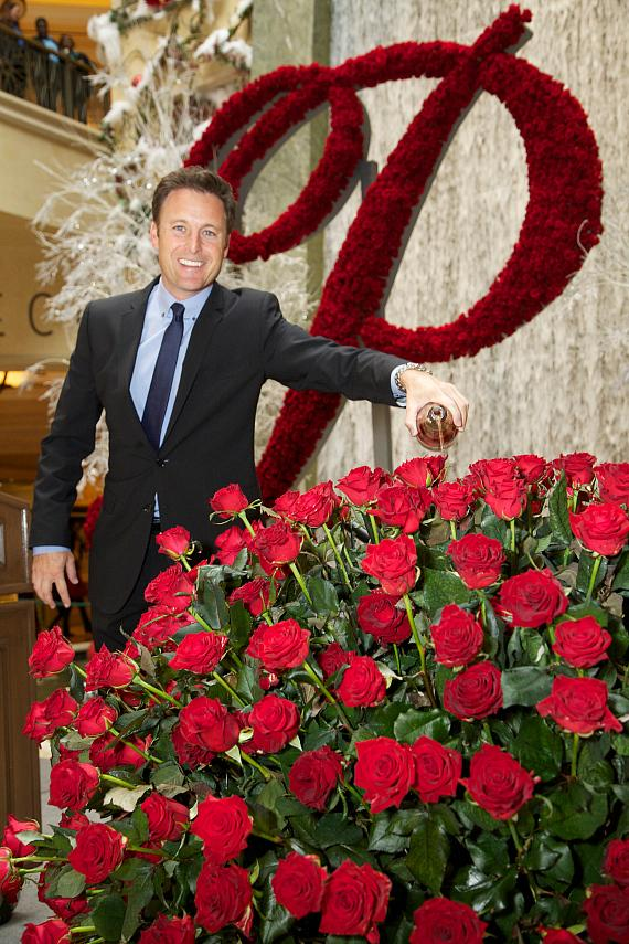 """Chris Harrison, Host of ABC-TV's """"The Bachelor,"""" Unveils Newest Member of the Rose Family - The Palazzo Rose"""