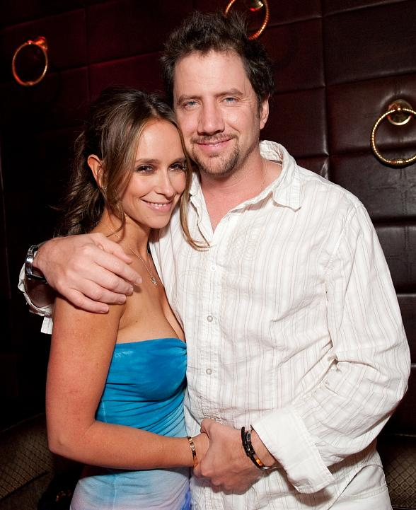 Jennifer Love Hewitt and Jamie Kennedy at LAVO