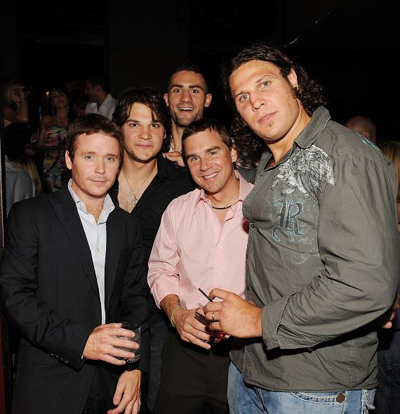 Kevin Connolly, Riley Cote & friends at TAO