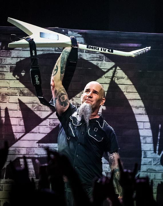 Anthrax performs at Brooklyn Bowl Las Vegas