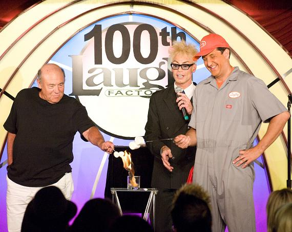 "Murray SawChuck's ""$100 Bill Vanish"" as Performed at The Laugh Factory in Tropicana Las Vegas"