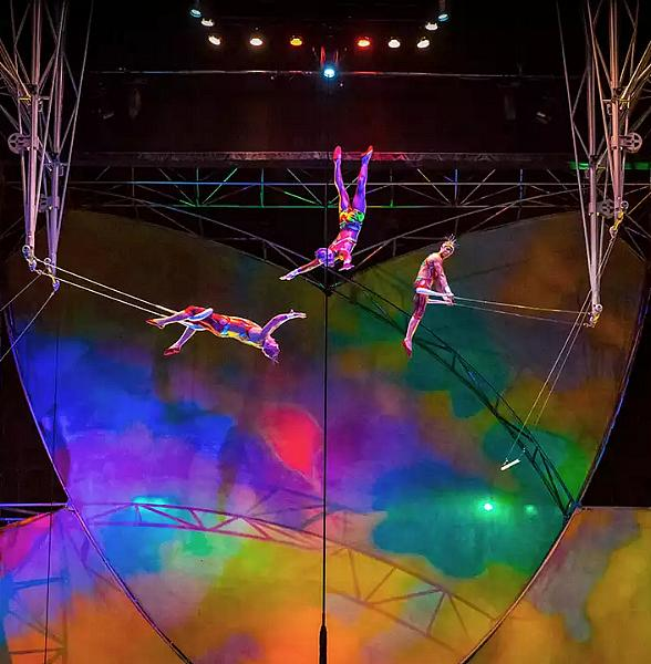 """Enjoy Open Rehearsals at """"Mystère by Cirque Du Soleil"""" Now Every Saturday at Treasure Island Hotel & Casino Beginning April 21"""