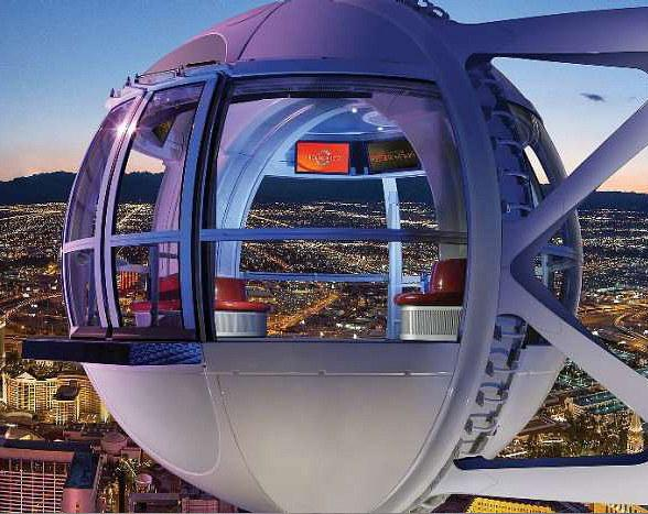 """The Las Vegas High Roller Invites Riders to """"Be Irrational"""" on Pi Day"""
