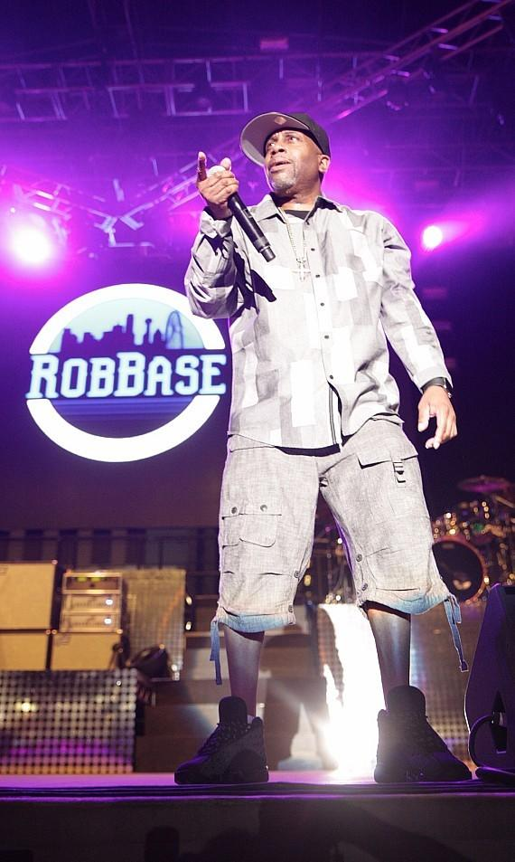 """Rob Base performs at Downtown Las Vegas Events Center for """"I Love The 90s"""" concert"""