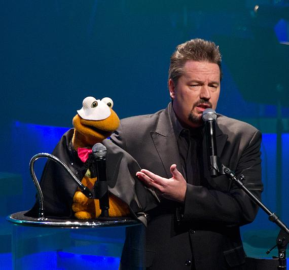 Winston the Impersonating Turtle with Terry Fator
