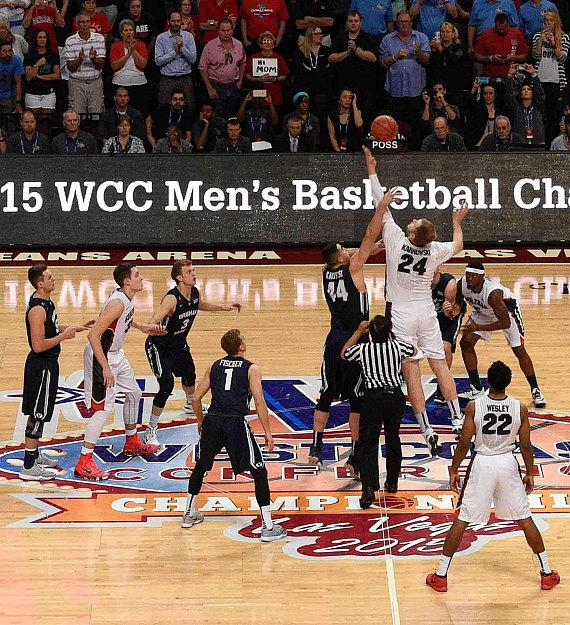 The West Coast Conference (WCC) Basketball Championships Celebrates 10th Anniversary in Las Vegas and Returns to Orleans Arena March 1-6