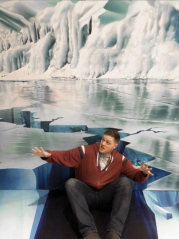 Trick Art Holiday Pop-Up Exhibition Makes Debut Inside Immersion Vegas at Fashion Show