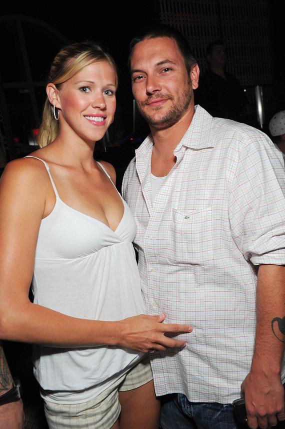 Victoria Prince and Kevin Federline at LAVO