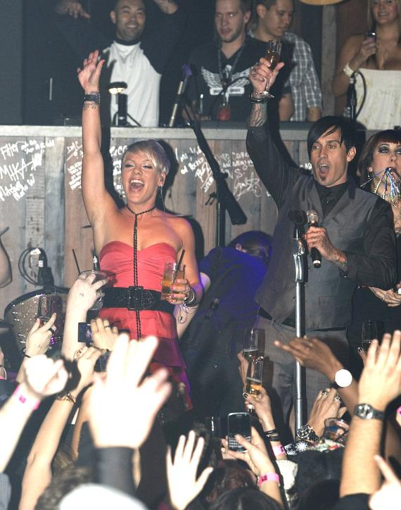 Pink performs at Wasted Space (Photo credit: Hard Rock Hotel & Casino)