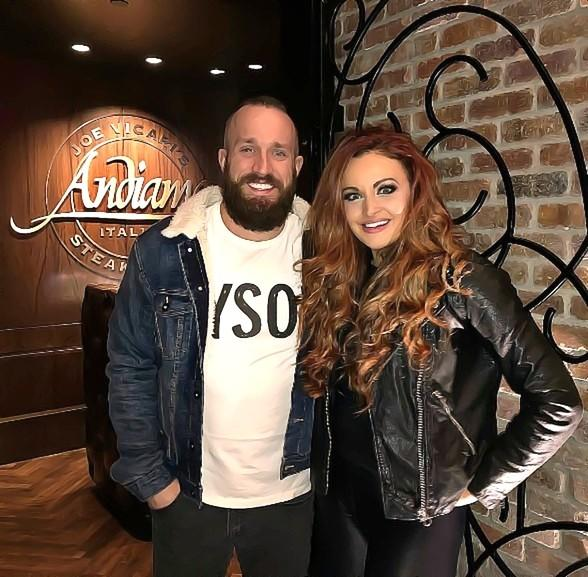 WWE Power Couple, Maria and Mike Kanellis, Celebrate Their Anniversary at Andiamo