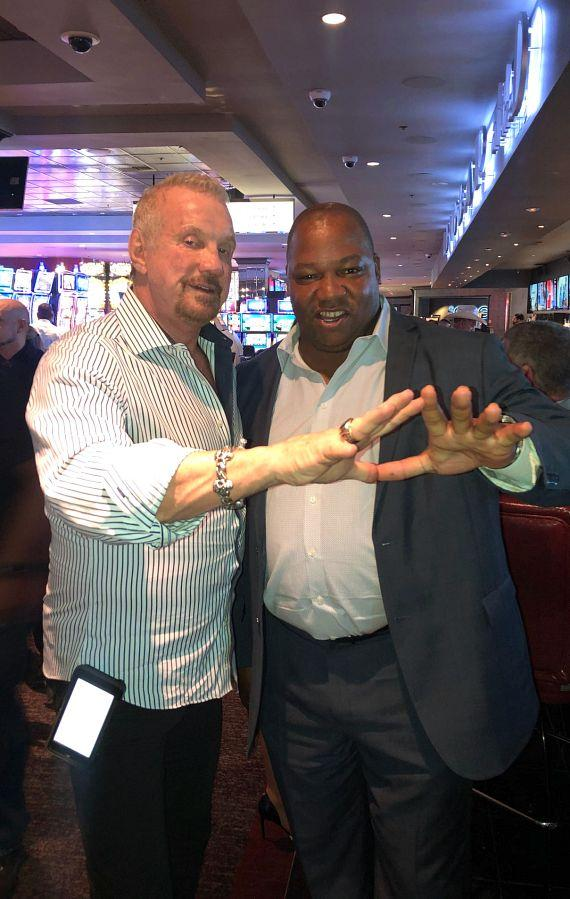 WWE Diamond Dallas Page with Executive Host Darren Banks