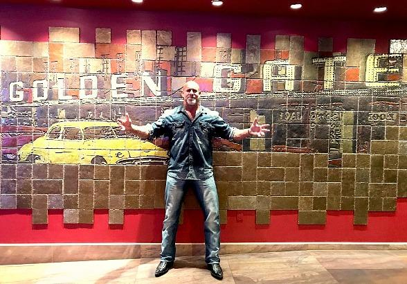 WWE's Legendary Goldberg Dines at Andiamo Italian Steakhouse and Stays at Golden Gate Hotel and Casino