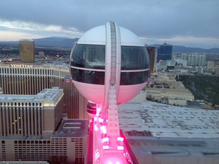 Overlooking the Las Vegas Strip, Las Vegas