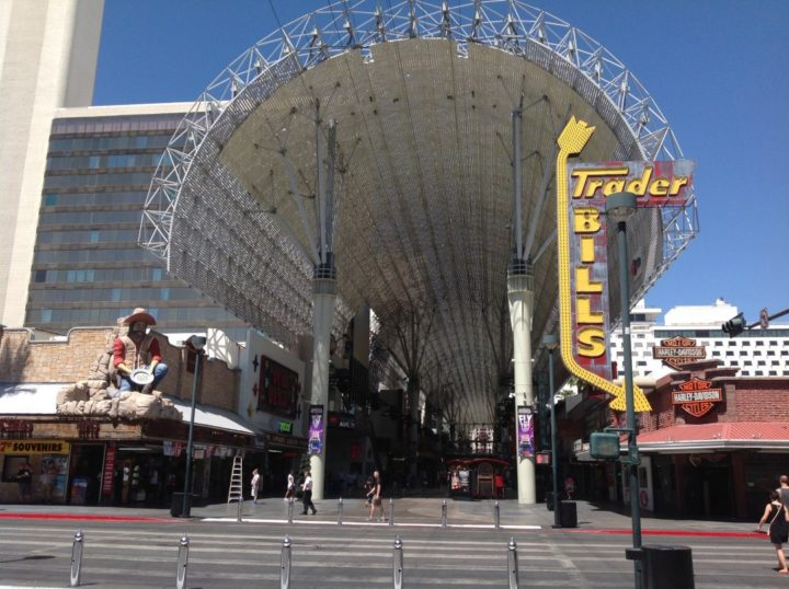 Entrance to Fremont St.