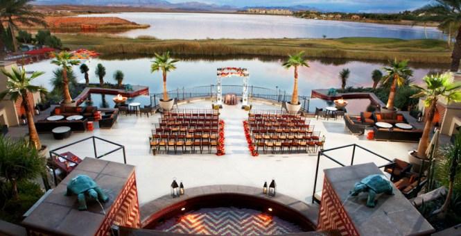 Hilton Lake Las Vegas Resort Spa Hotel Nv Wedding Ceremony