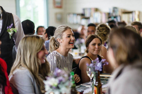 Comedian. One-of-a-Kind Wedding