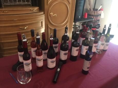 Wines we tasted