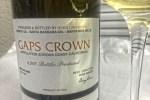 Tasting Notes: 2009 Gap's Crown Chardonnay