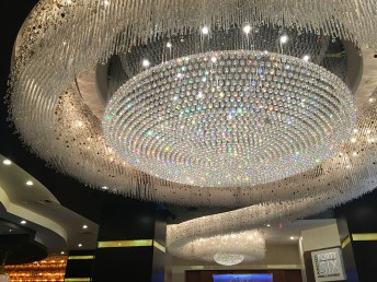 Chandelier at the Rush Tower