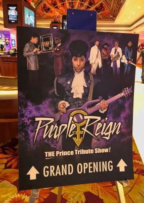 Purple Reign Sign