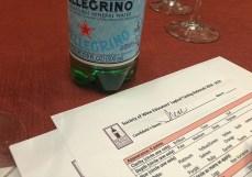 My drug of choice - Pellegrino!