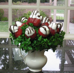 Decorate Chocolate Covered Strawberries