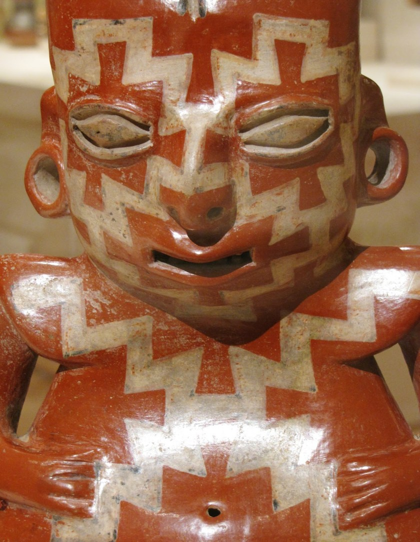 Female Effigy, terracotta and pigmented slip, 200/100 BCE, Chupícuaro; Guanajuato or Michoacán, Mexico