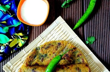 Methi Thepla recipe by vegetarian tastebuds