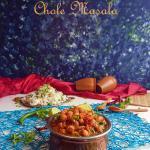 Chole Masala | Punjabi Chana Masala