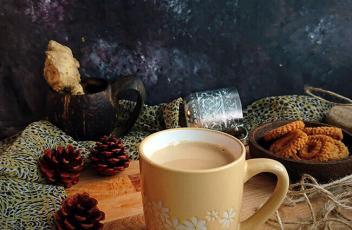Masala tea recipe by www.vegetariantastebuds.com
