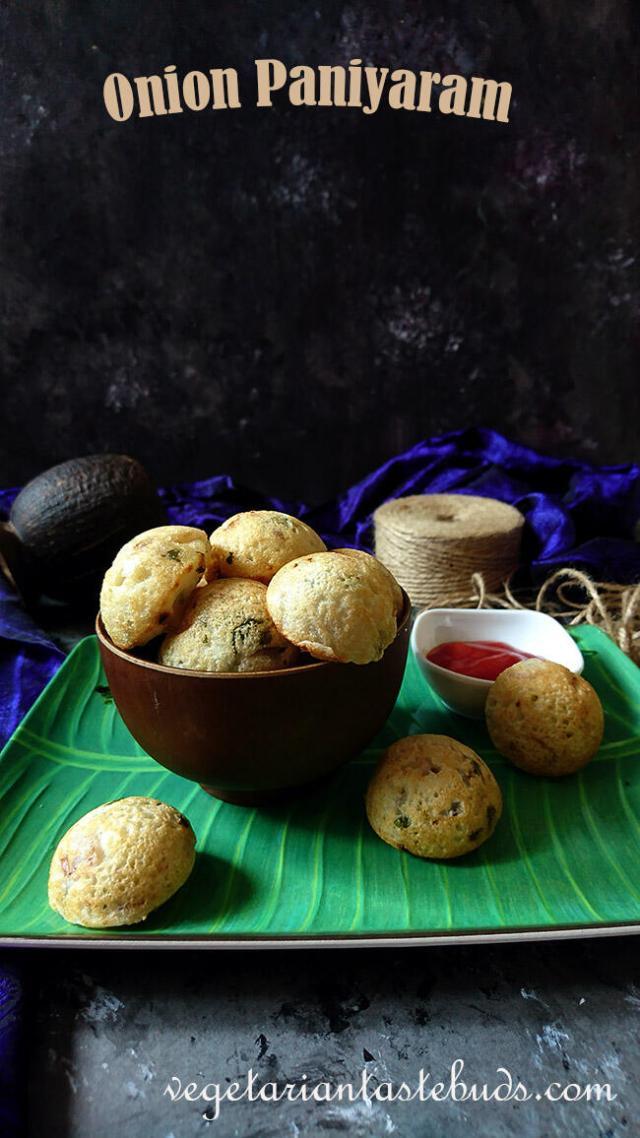 Onion Paniyaram | Rava Masala Paniyaram