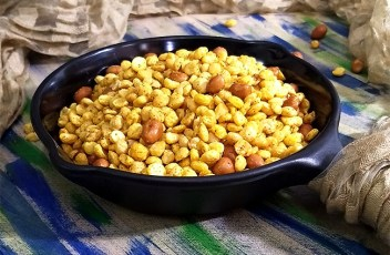 Chana Dal Namkeen recipe by www.vegetariantastebuds.com