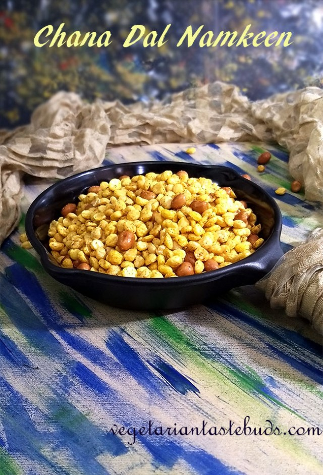 Chana Dal Namkeen | Spicy Fried Split Bengal Gram