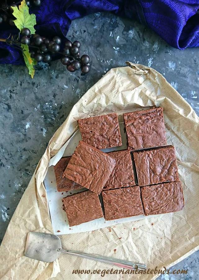 3 Ingredient Nutella Brownies