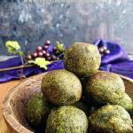 Spinach Cheese Balls | palak cheese balls recipe
