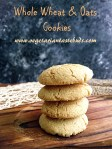 Eggless Wheat and Oats Cookies