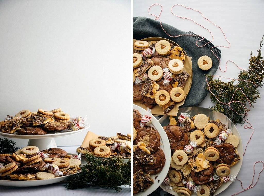 Brownie Cookies With Rum Sugar