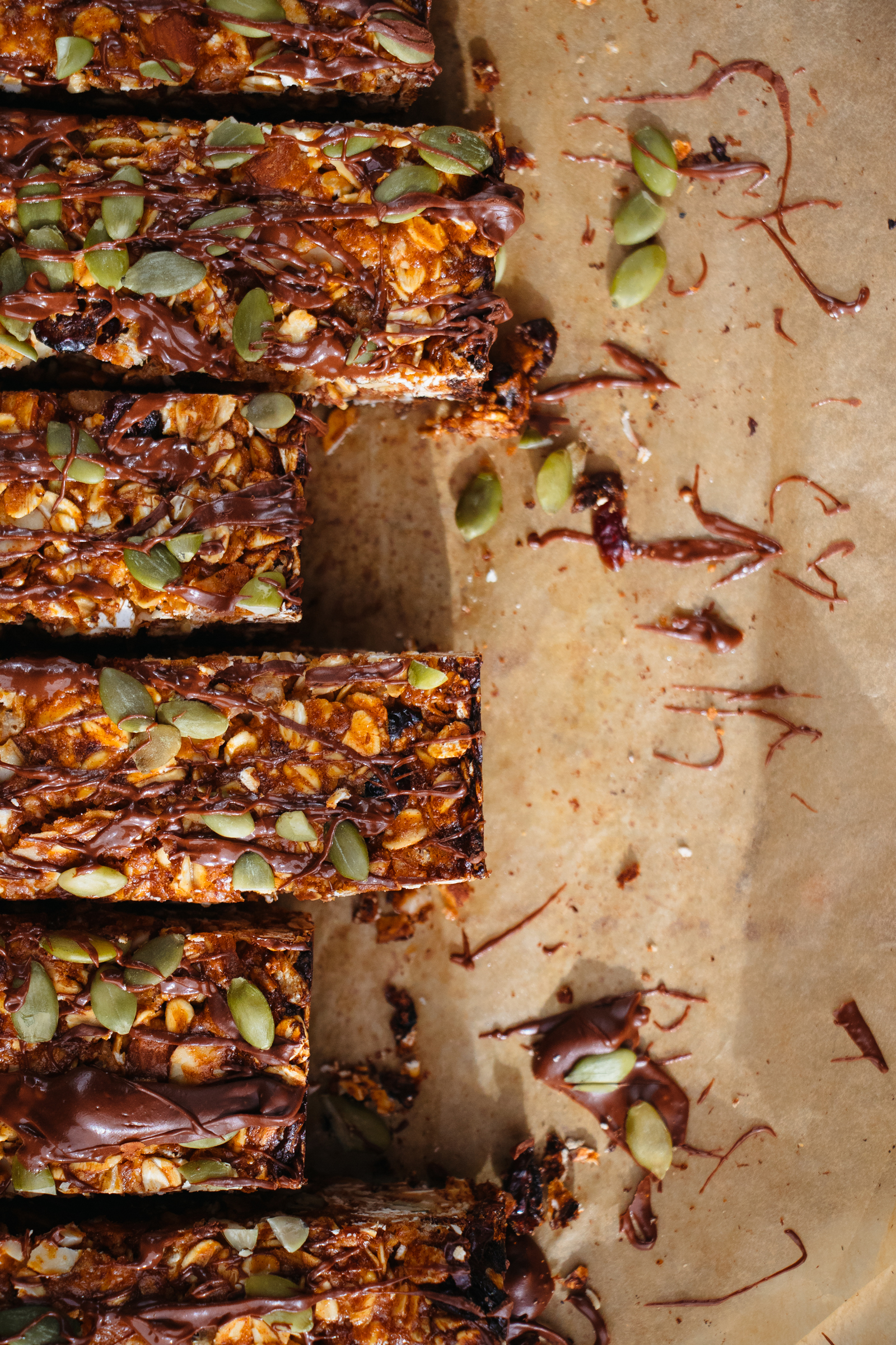 Cherry Chocolate Granola Bars