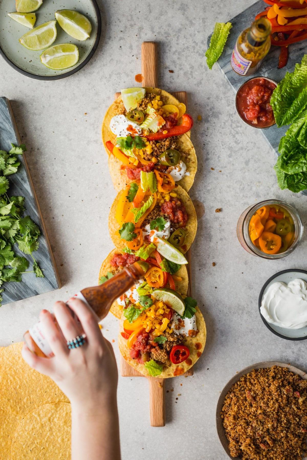Vegetarian Quinoa Taco Meat