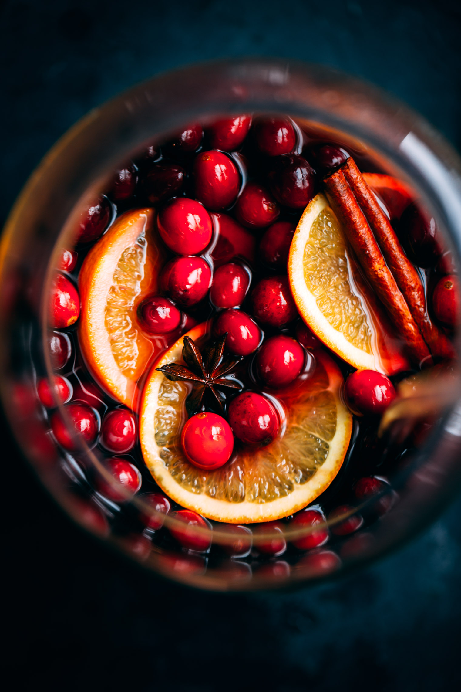 Cranberry Molasses Mulled Wine Big Batch Punch Recipe