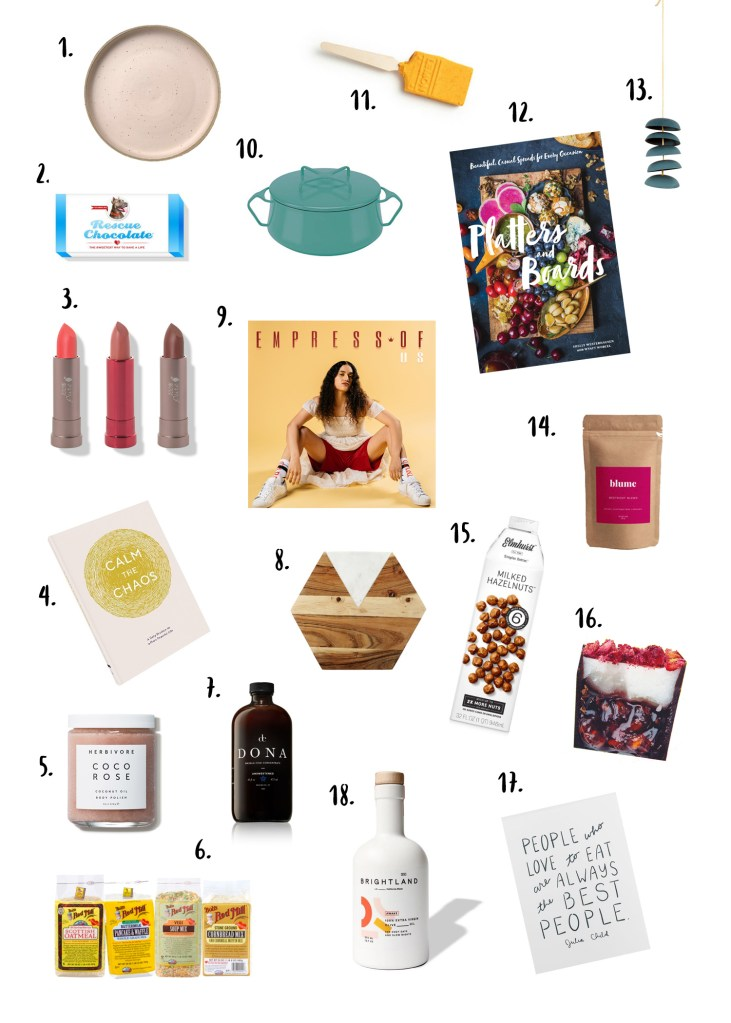 Vegetarian Ventures 2018 Gift Guide (All Under $50!)