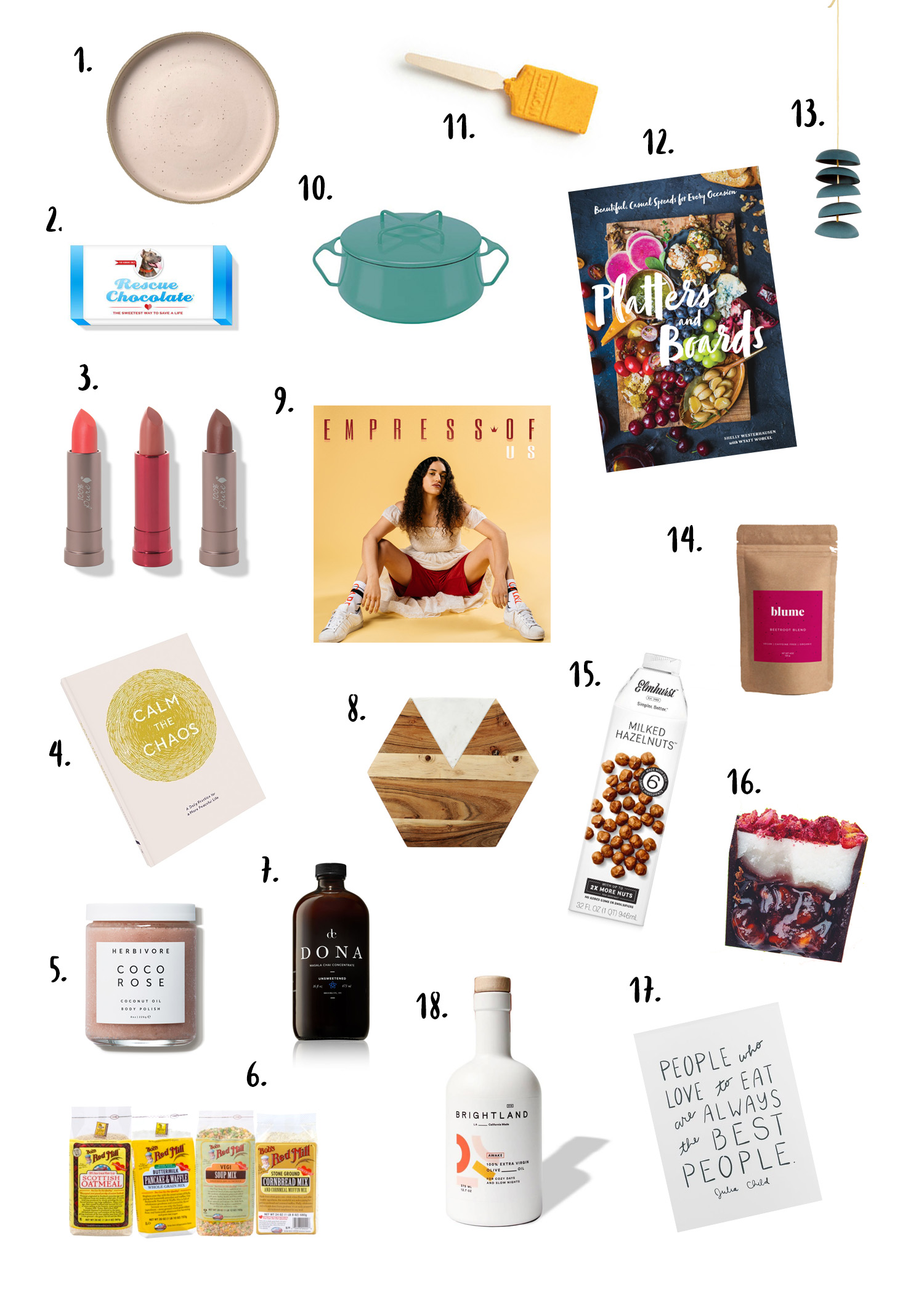 Vegetarian Ventures 2018 Gift Guide (All Under $50)