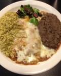 Vegetarian Restaurant Review - Traditional Enchiladas at Green Vegetarian Cuisine