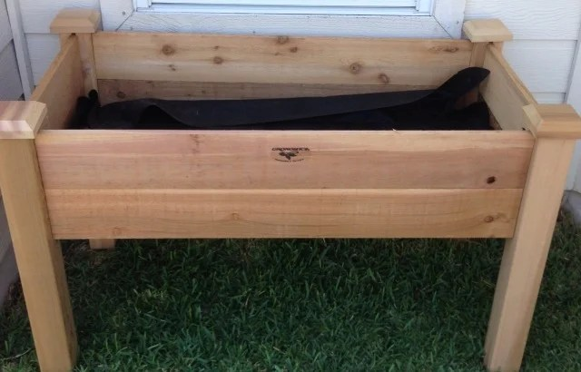 Gronomics Elevated Garden Bed - Completely Assembled